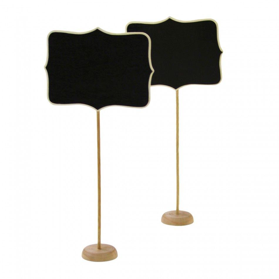 Standing Chalkboard Table Number Holder [DMC52072] : Wholesale ...