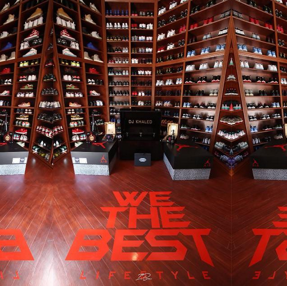 DJ Khaled Finally Reveals How Large His Sneaker Collection Is