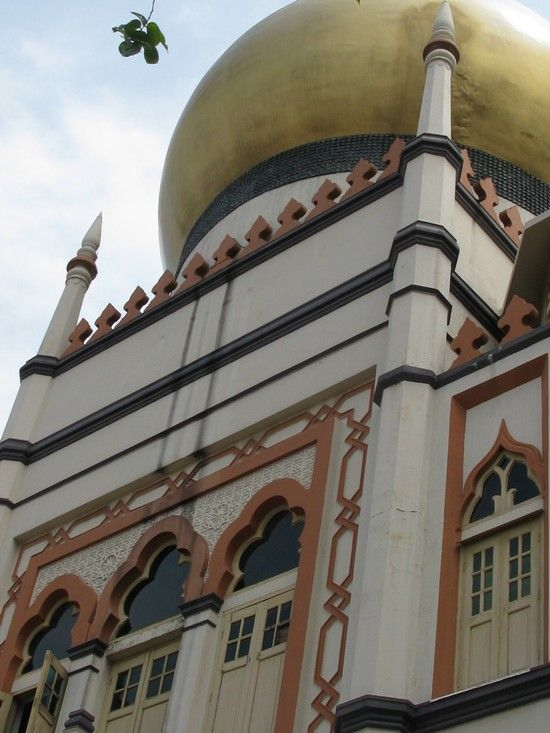 Sultan Mosque, Singapore.  One of my favorite cities to visit and walk around.