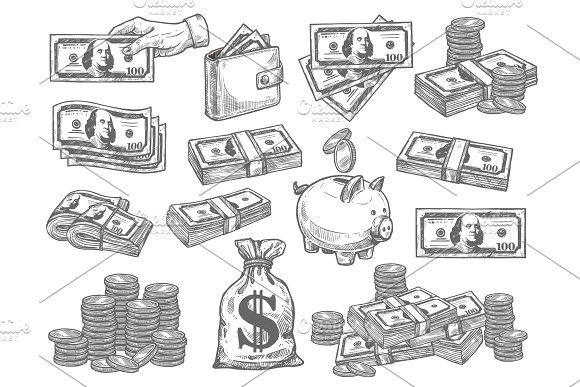 Small Money Bag Tattoo: Money Bag Tattoo, Dollar Tattoo