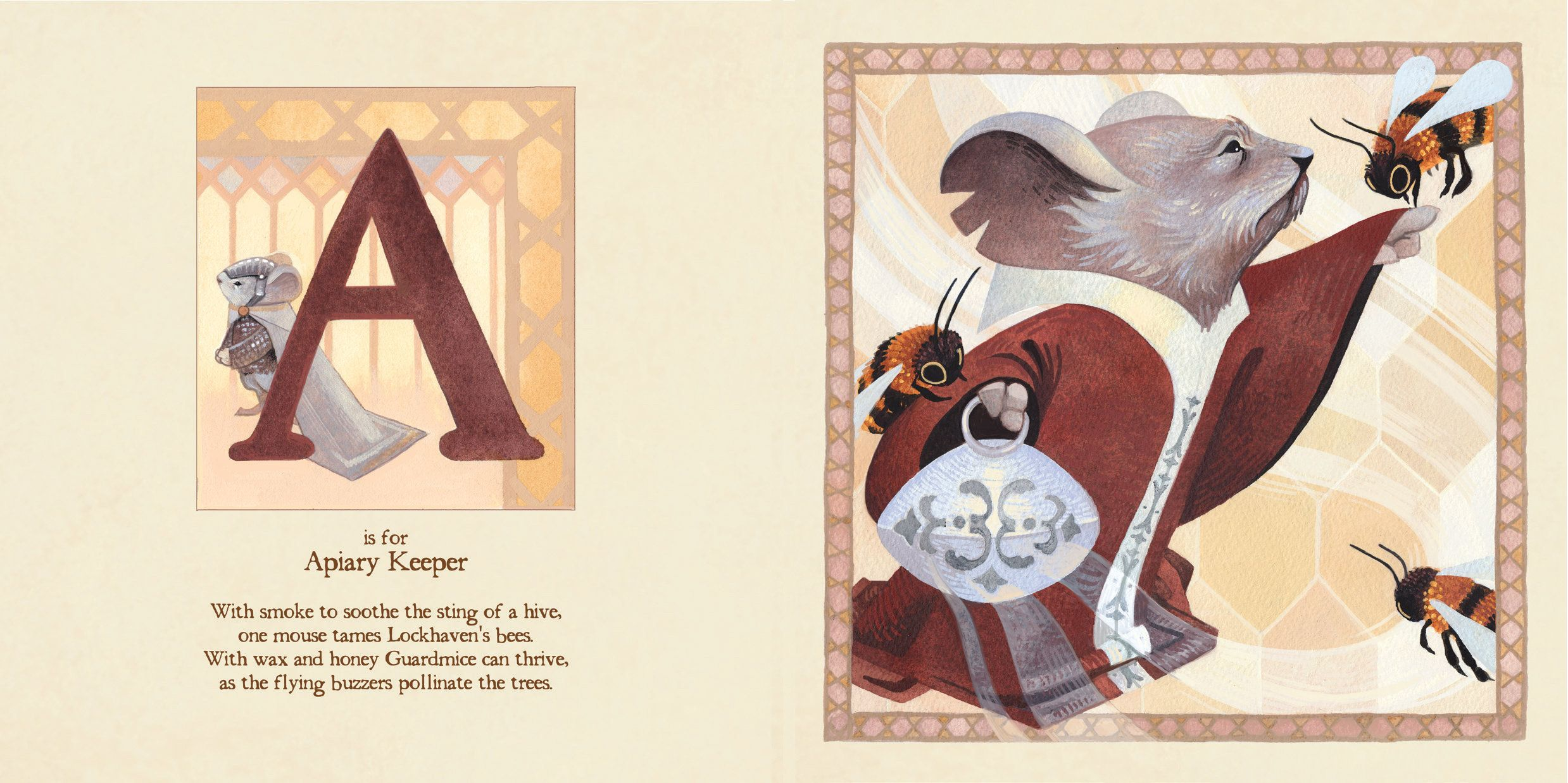 MOUSE GUARD ALPHABET BOOK, a new all-ages hardcover publication fromMouse Guard creator David Petersen and illustrator Serena Malyon set to debut in September. Learn the ABCs in the world of David …