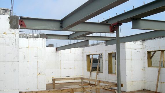 Nudura insulated concrete form icf homes built using for Insulated concrete form house