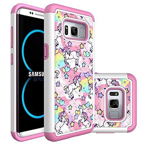 Galaxy S8 Active CaseRainbow Unicorn