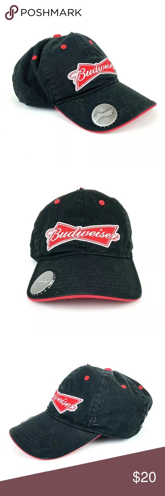 dd6d568978adf Budweiser Beer Bootle Opener Cap Mens Hat Budweiser Cap w  Bottle Opener  Brand New Without Tags Budweiser Accessories Hats