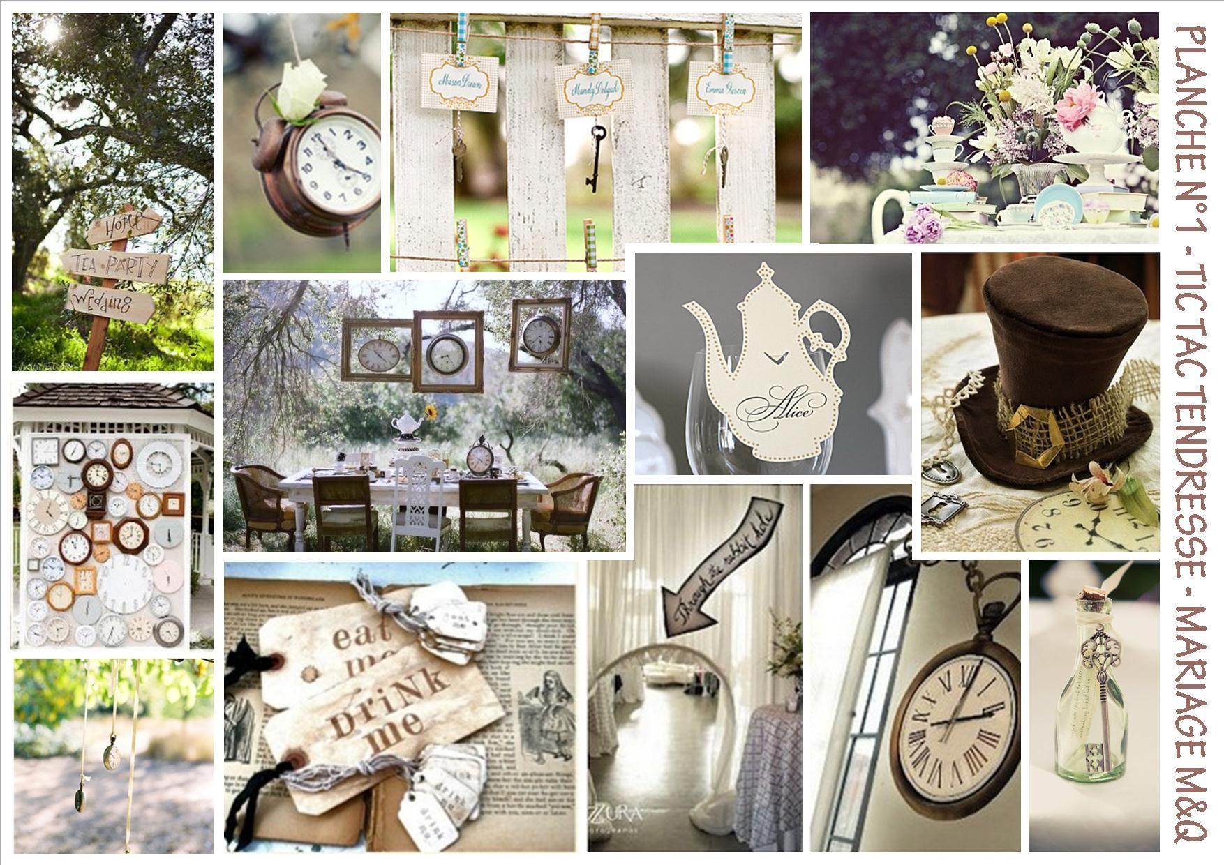 Alice au pays des merveilles d coration mariage - Theme alice au pays des merveilles decoration ...