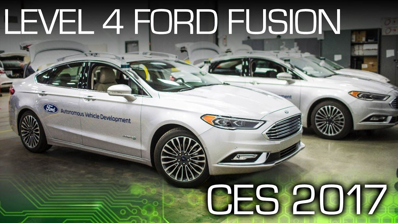 Ford Takes Another Step Closer To Autonomy Ces 2017 Ford Ford
