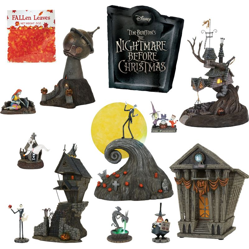 Department 56 the nightmare before christmas village 11