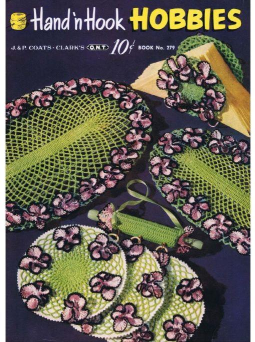Download the Vintage Crochet Book Hand N Hook Hobbies to make ...
