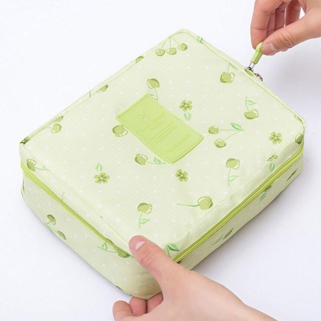 23887297e53e JIARUO Girl Makeup Bag Women Cosmetic Bag Wash Toiletry Make Up Organizer  Storage Travel Kit Bag Multifunction Ladies Bag Case