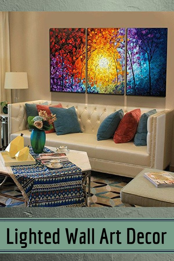 Lighted Wall Art Decor Por And Trendy Illuminated Room Bar Bedroom Beautiful Interior Design
