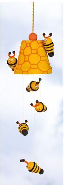 Bienen #flowerpot