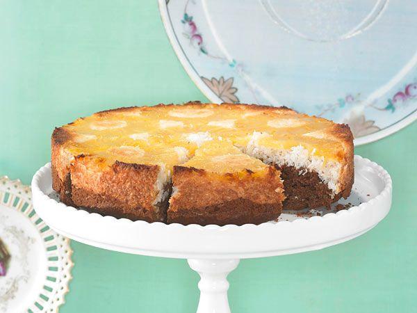 Gesturzter Ananas Kokos Kuchen Rezept Lecker Rezept Ananas Kokos Lecker Kuchen Rezepte