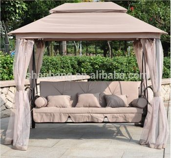 Incredible Luxury Two Function Three Seat Outdoor Gazebo Swing Chair Uwap Interior Chair Design Uwaporg