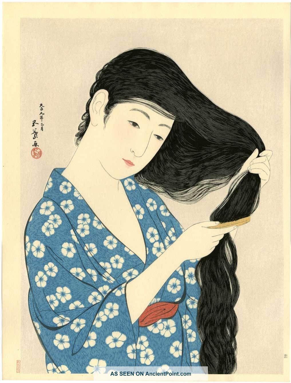 japanese etchings