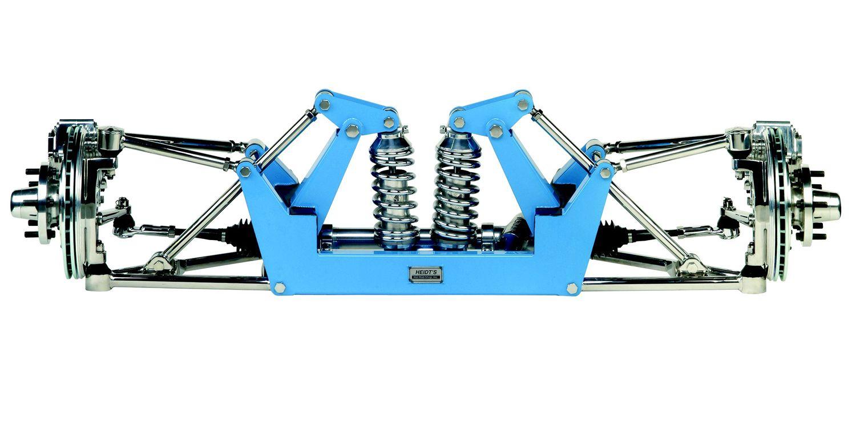 HEIDTS SUPERIDE® Open-Wheel Suspension Kit for Street Rods ...