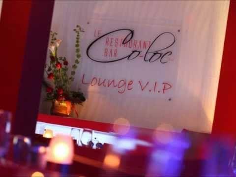 La section Lounge du Restarant-Bar Le Co-Loc. luxueuse et branchée !