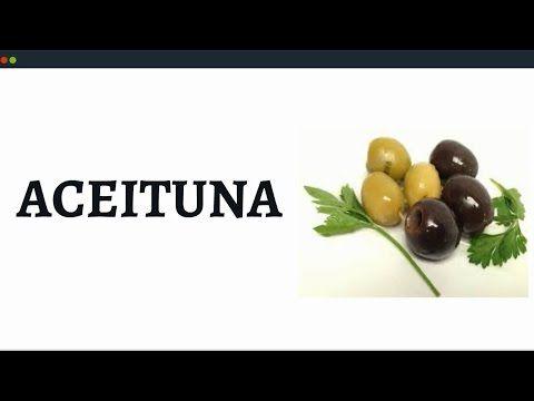Propiedades de la Aceituna, Alimentos Ricos en Vitamina E y Omega 9 - YouTube