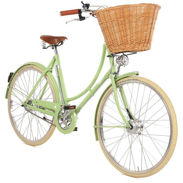 Country Living 30th Anniversary Bicycle Meadow Green Liked On