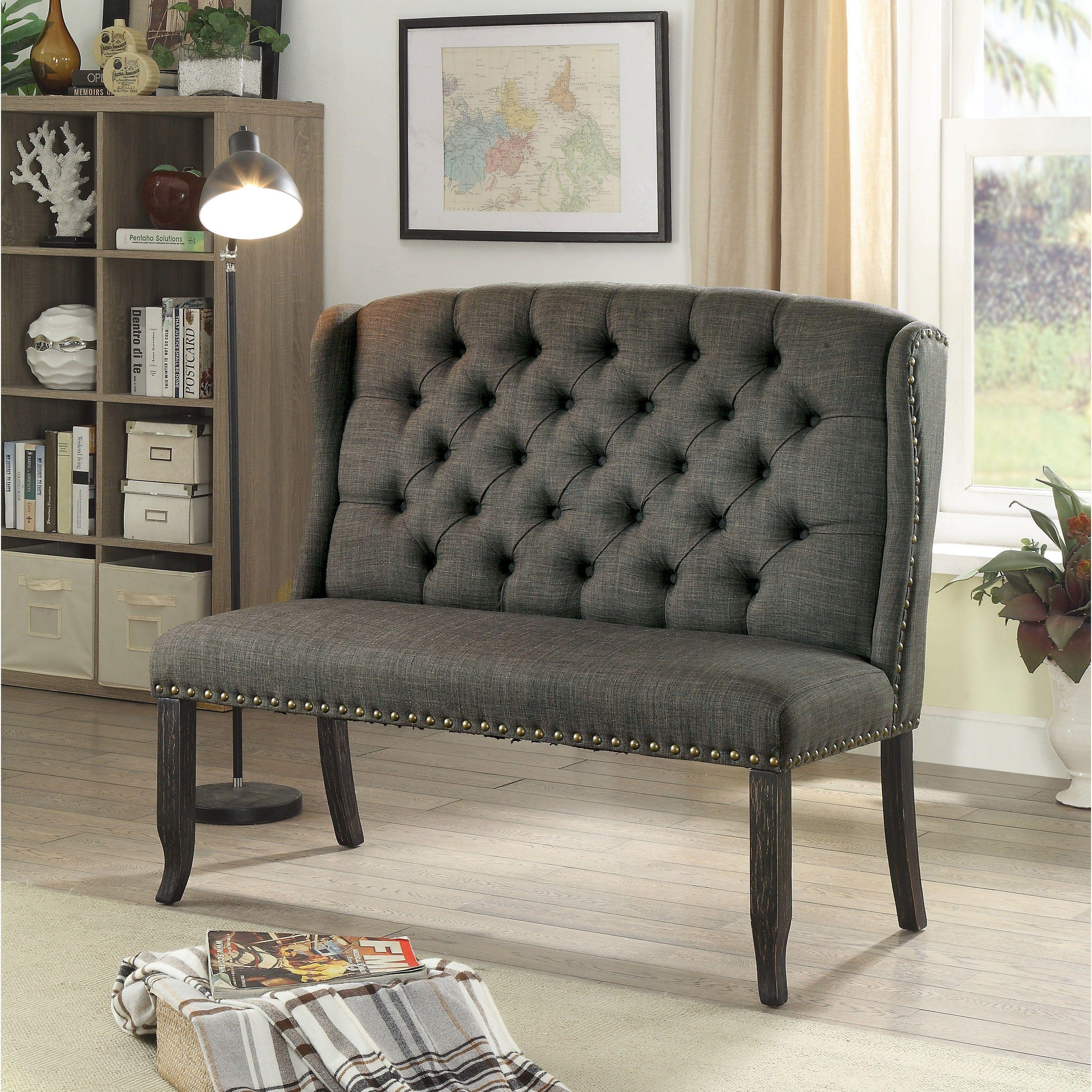 Fabulous Furniture Of America Telara Foam Contemporary Tufted Bralicious Painted Fabric Chair Ideas Braliciousco