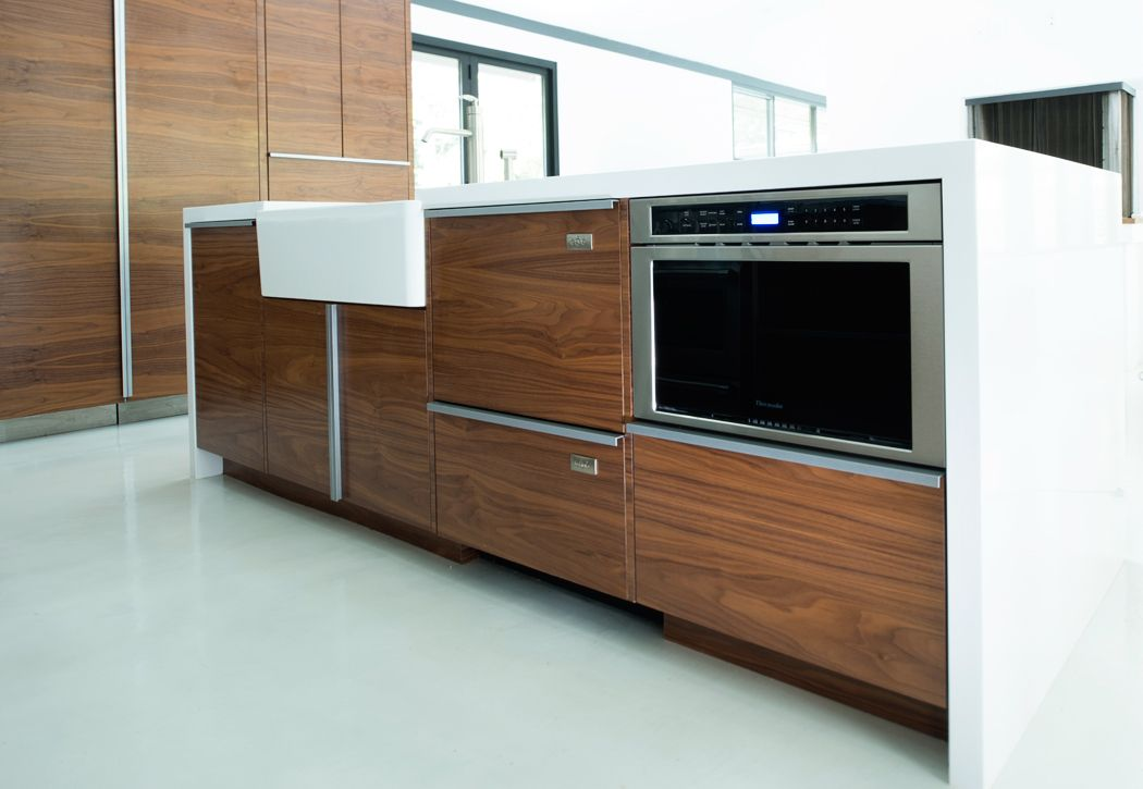 Modern Kitchen Island Los Angeles Modern Kitchens By Able And