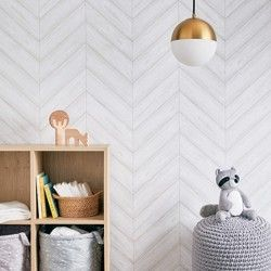 Subway Tile Peel Amp Stick Wallpaper White Threshold