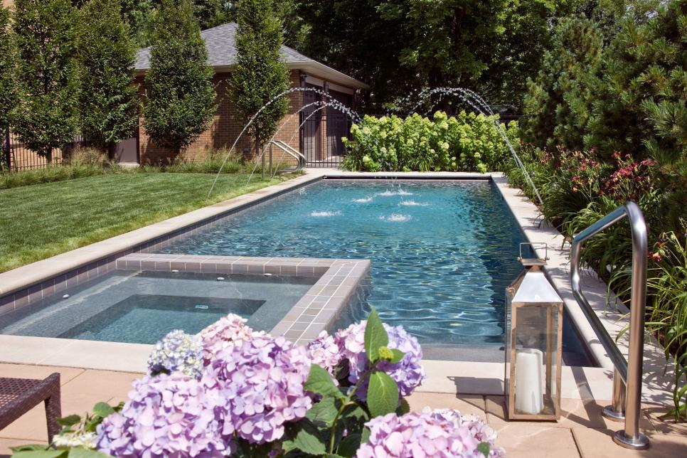 Lap Pools For Narrow Yards Lap Pools For Narrow Yards Lap Pools Backyard Swimming Pools Backyard Backyard Pool Designs