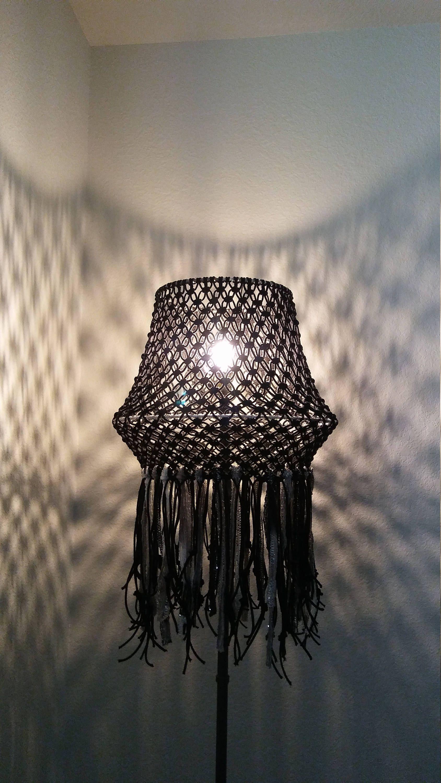 Macrame lamp shade lighting home decor bohemian by modishknot on macrame lamp shade lighting home decor bohemian by modishknot on etsy aloadofball Choice Image