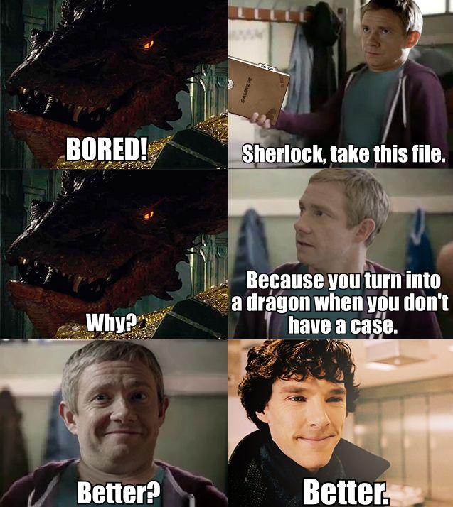 30 Hilarious Memes For Your Browsing Pleasure Sherlock Meme