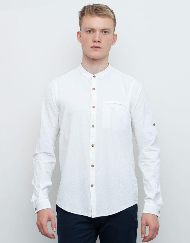 B y C para hombre de piel de Oxford patrones de costura para camisas ...