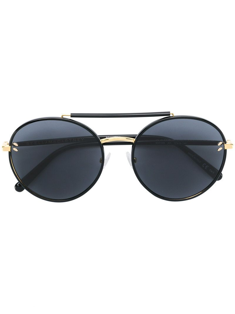 c010e0af61c STELLA MCCARTNEY DOUBLE BRIDGE ROUND SUNGLASSES.  stellamccartney ...