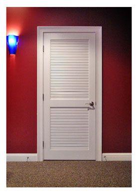 Louver Door For Furnace Room Furnace Room Bifold Doors Makeover