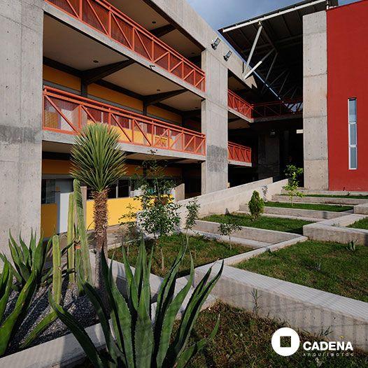 Colegio #Terranova en #SLP por #CadenaArquitectos