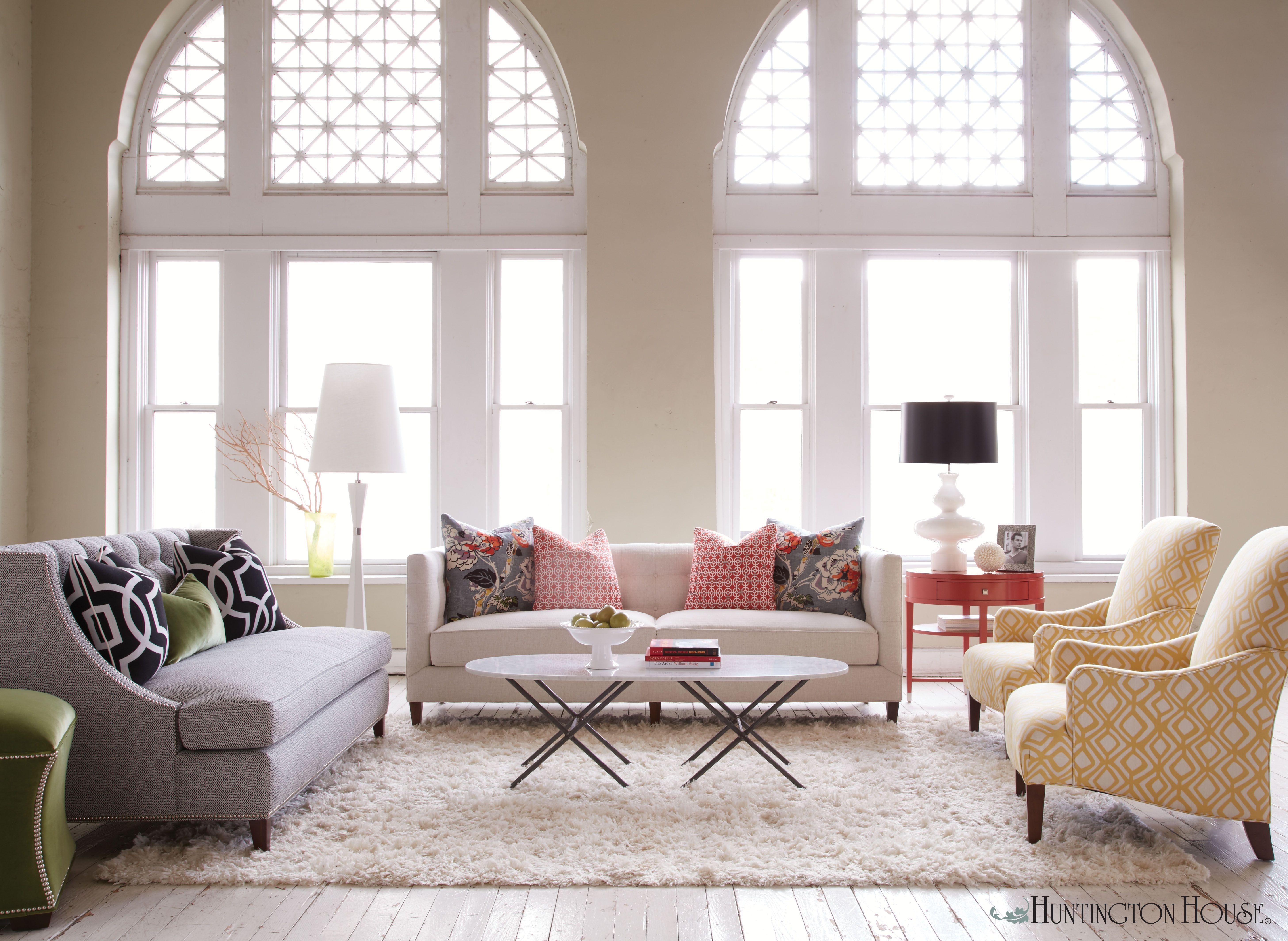 This space shows how multiple colors can work together in a single ...