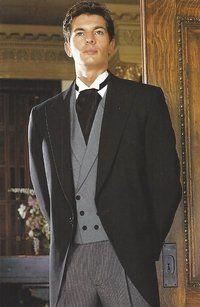 190fa199 After Six Black Cutaway Tail Tuxedo | Menswear | Tuxedo, Wedding ...