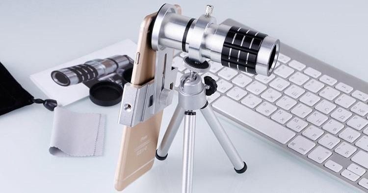 Best universal metal high definition mobile phone telescope for
