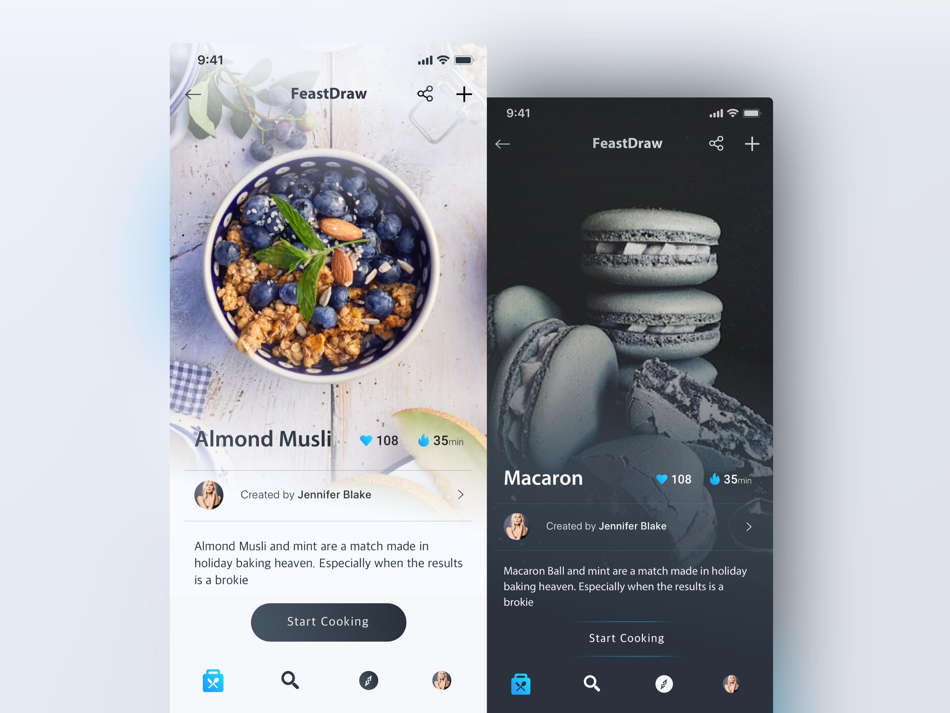 20 best flat ui design for mobile app inspirations.