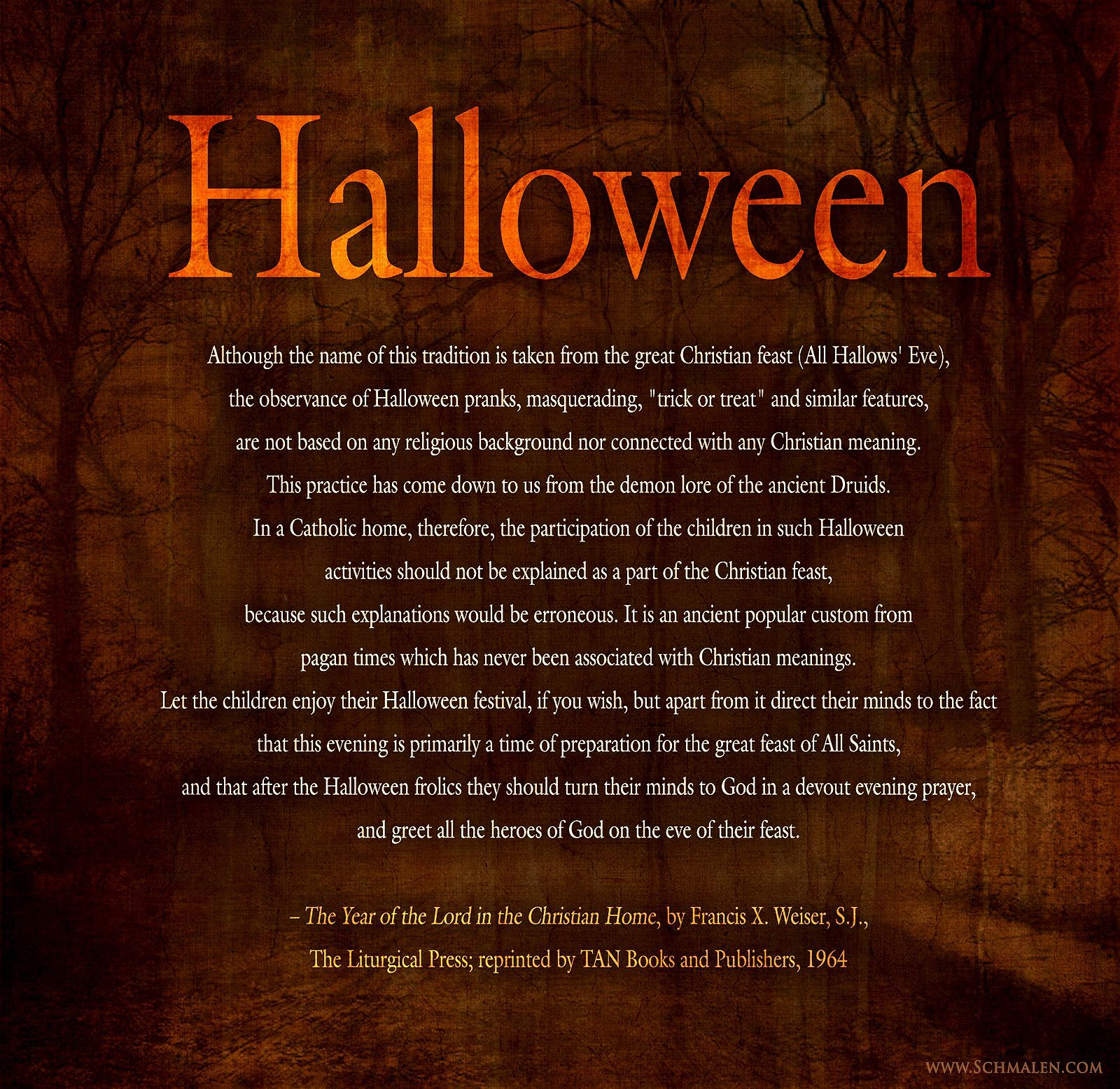 Our Top Picks For Preparing A Feast: All Hallows' Eve, Halloween, Is Meant To Prepare Our Hearts And Minds For The Celebration Of All