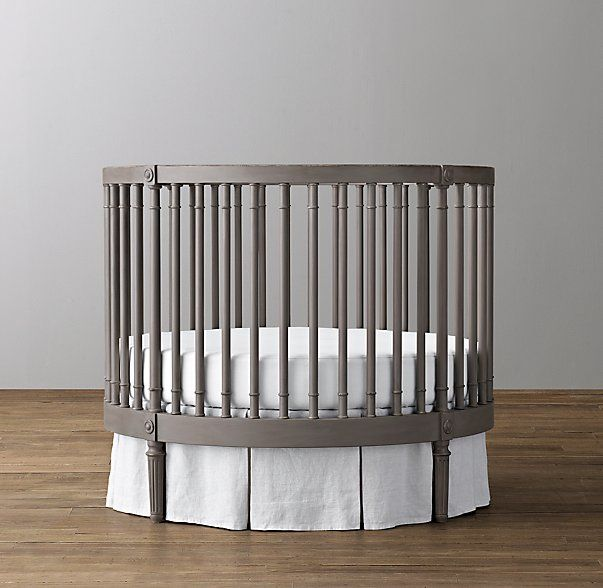 Ellery Round Crib & Mattress | Nursery Inspiration | Round ...