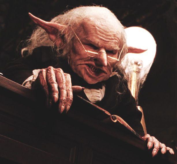 Gringotts Head Goblin Harry Potter Harry Potter Goblin Harry Potter Creatures Harry Potter Universal