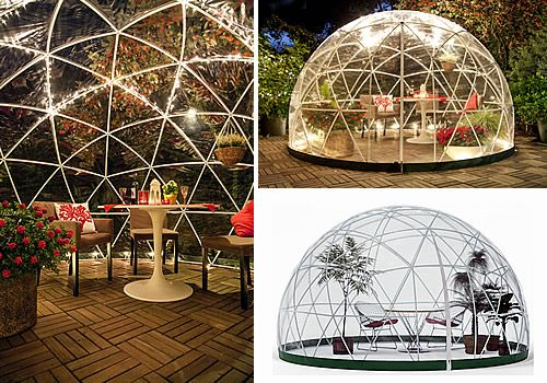 Garden Igloo 360 Outdoor Geodesic Garden Room. Makes For A Great Storage  Area For Your