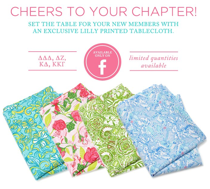 Lilly Sorority Tablecloths U003d Fabric By The Yard For Crafting!!