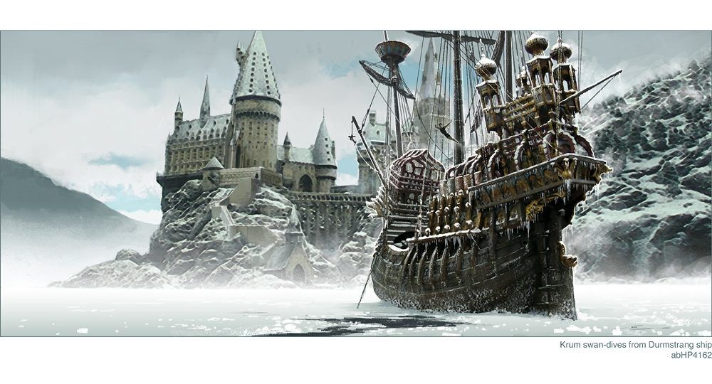 Harry Potter 100 Concept Art Collection Harry Potter Fan Art Harry Potter Harry Because the durmstrang ship is a magical ship and can travel underwater, it implies that a particular pairing is magical, can survive everywhere (on land a phrase used for certain harry potter couples and pairings that you adore so much to the point where saying 'i ship it' becomes an understatement. harry potter 100 concept art