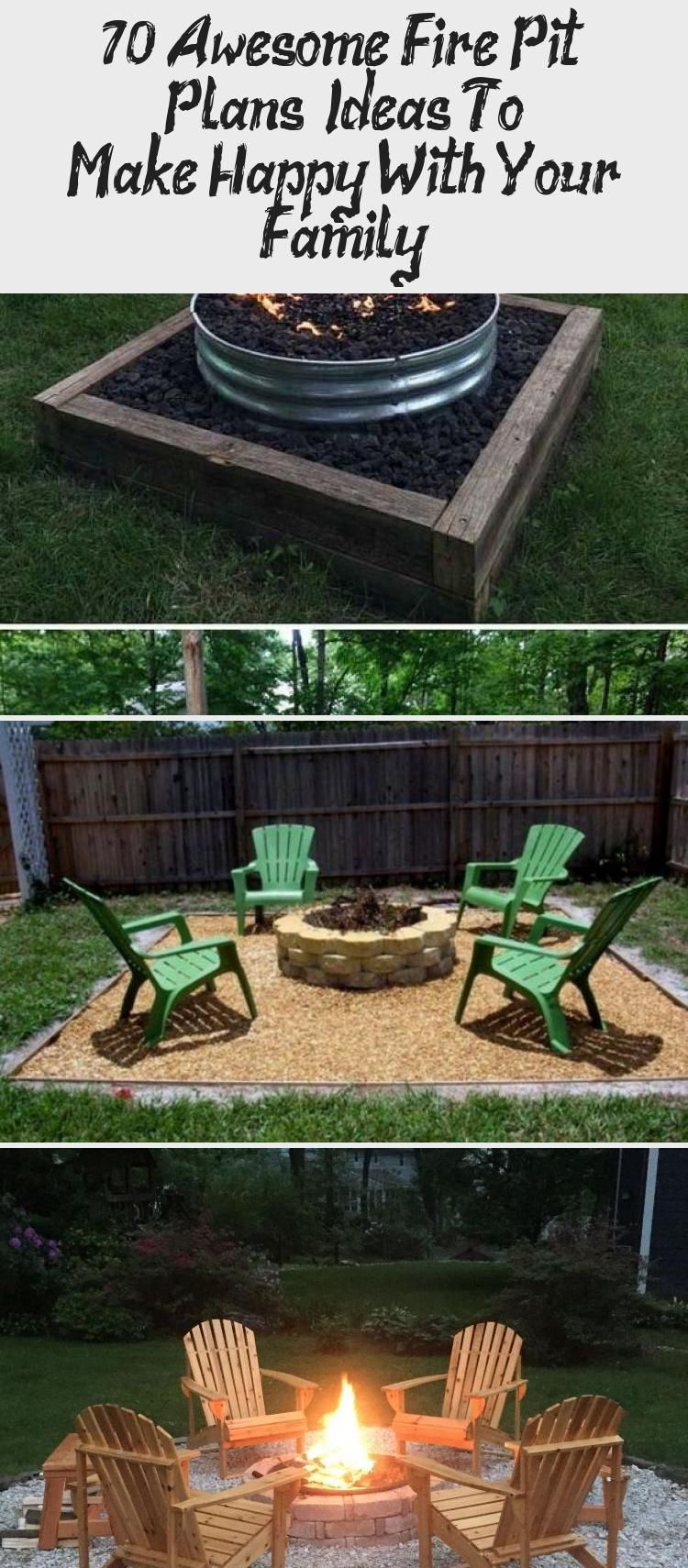 70+ Awesome Fire Pit Plans & Ideas To Make Happy With Your ...