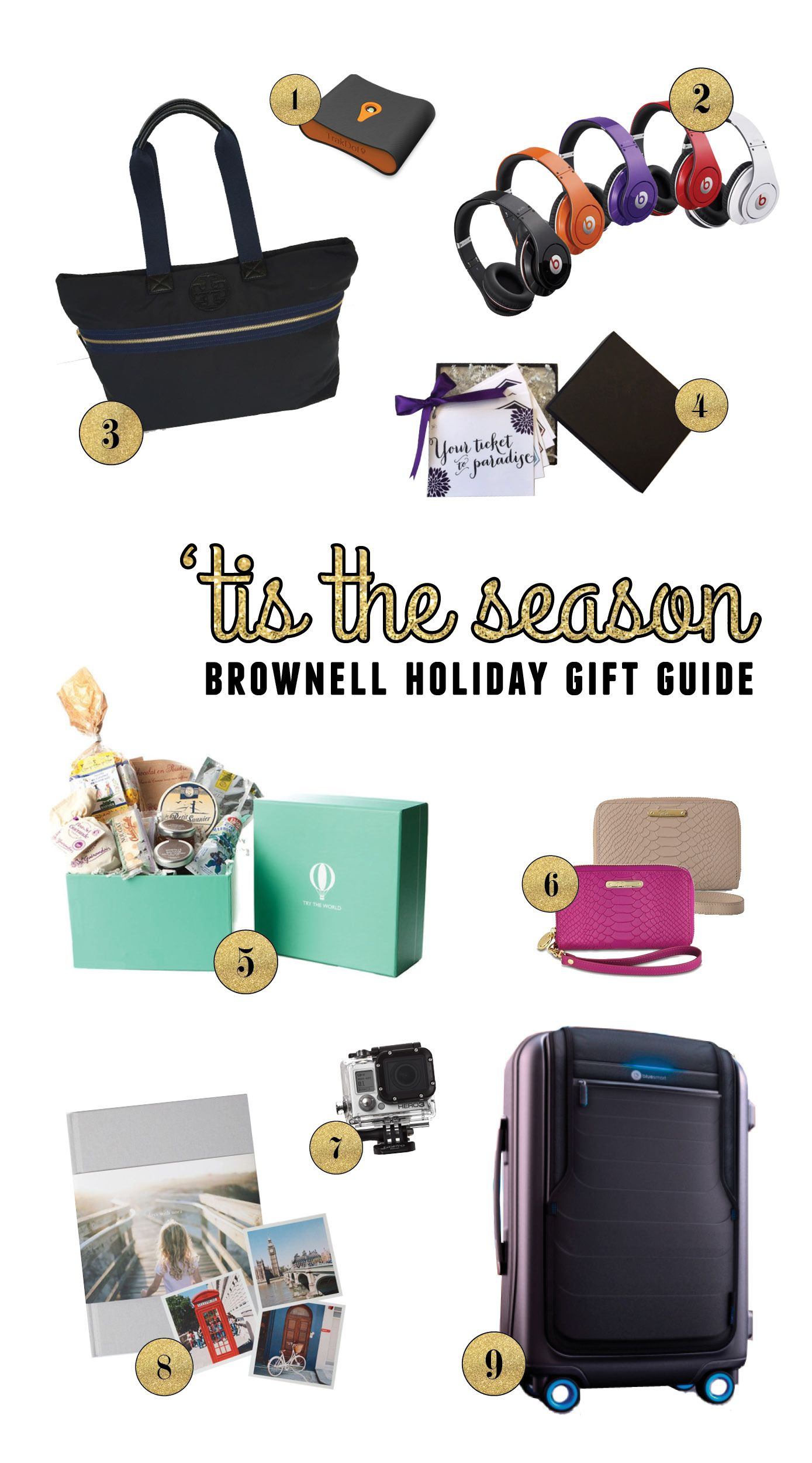 Gift Guide for Travelers - Find the perfect gift for someone who loves to travel + a TORY BURCH GIVEAWAY!