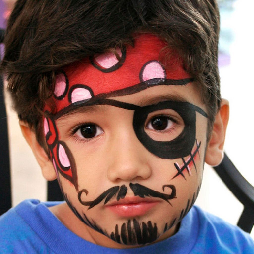 face painting pirate google search pirates pinte. Black Bedroom Furniture Sets. Home Design Ideas