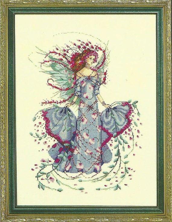 October Opal Fairy Mirabilia Designs Cross Stitch Chart
