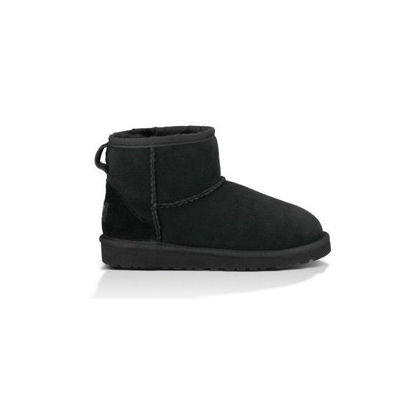 UGG Classic Mini (£77) ❤ liked on Polyvore featuring shoes, boots, kids - youth, youth boots, ugg australia boots, ugg australia and ugg® australia shoes