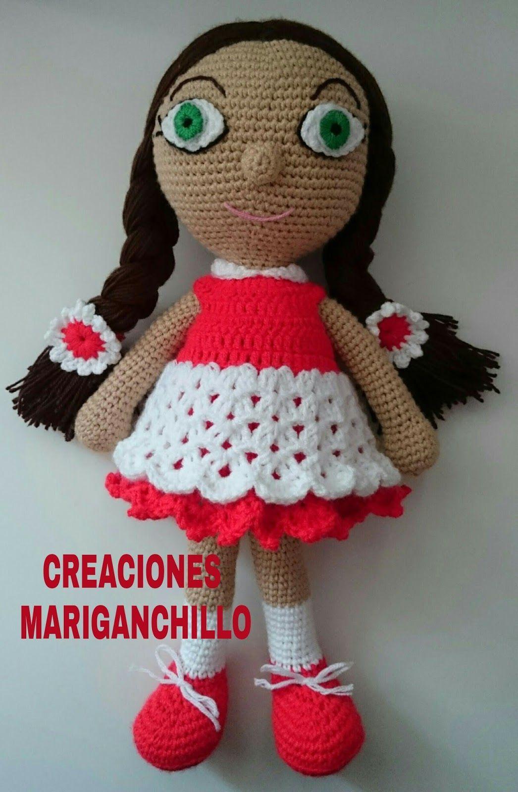 Como hacer muñeca amigurumi | Tejido | Pinterest | Como hacer ...