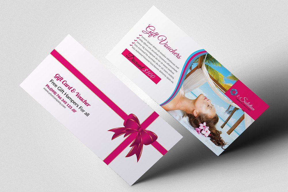 Beauty Spa Gift Voucher Template by Business Flyers on ...