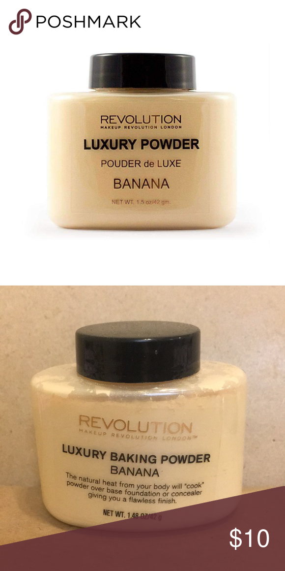 Makeup Revolution Luxury Baking Power in Banana Brand new